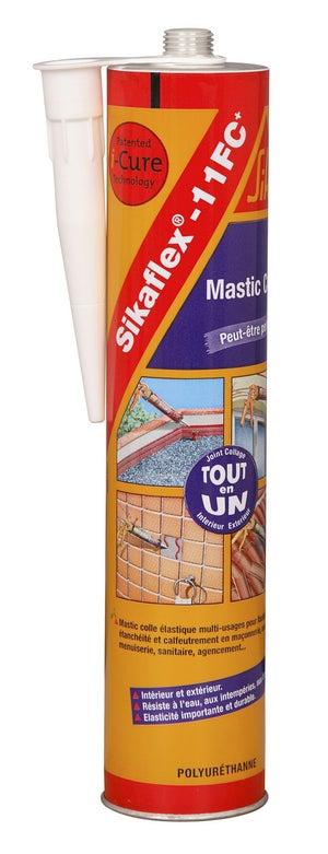Image : Mastic colle SIKA Sikaflex 11fc+ 300 ml noir
