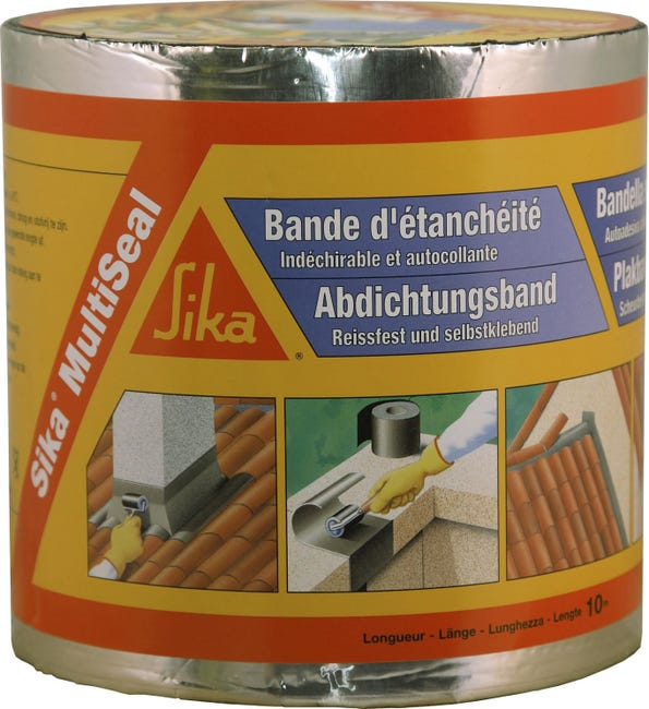 Bande Adhesive D Etancheite Sika Multiseal L 10 X L 0 15 M 1151 G M Leroy Merlin