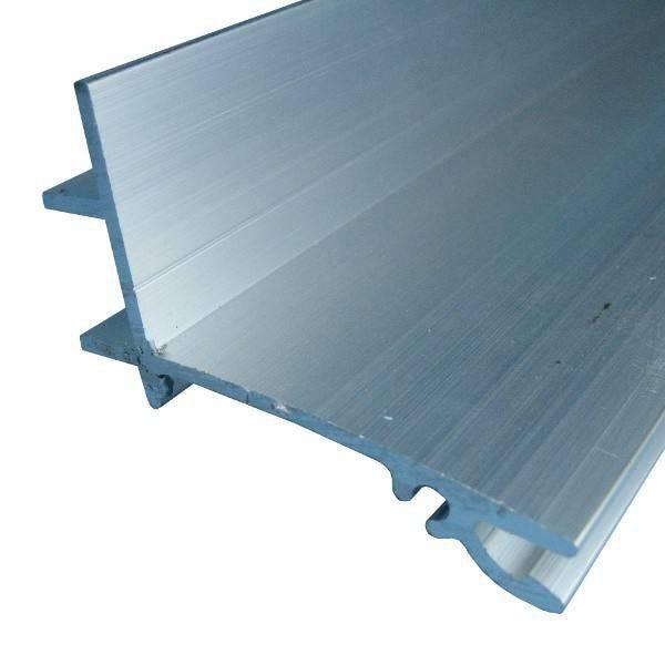 Faitiere Superieure Sur Mesure Pour Plaque Ep 32 Mm Aluminium L 0 5 M Leroy Merlin