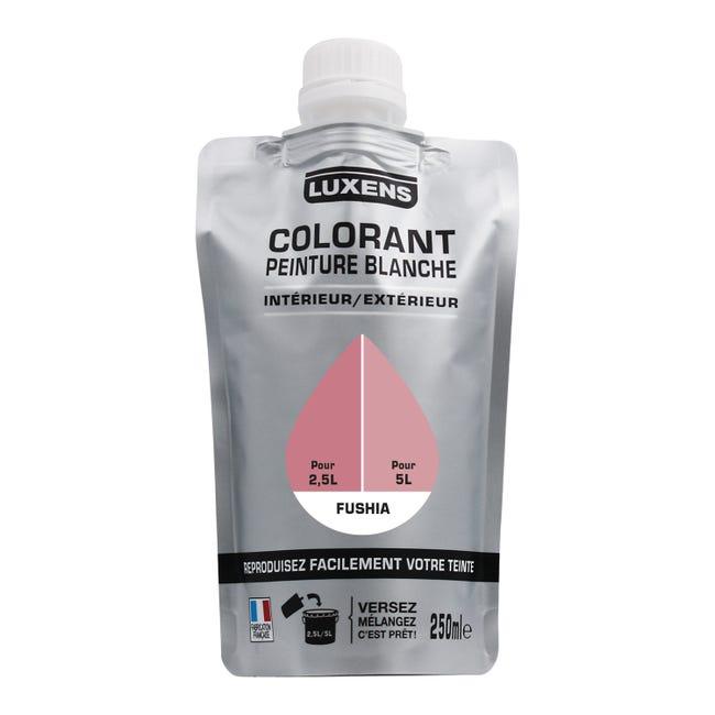 Colorant spécial peinture acrylique LUXENS 250 ml fushia | Leroy Merlin