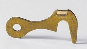Image : Lot de 2 crochets de contrevent acier HETTICH, L.32 x l.17 mm
