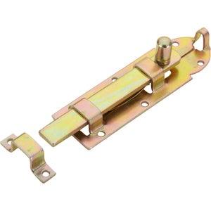 Image : Verrou à poussoir acier HETTICH, L.80 x l.25 mm