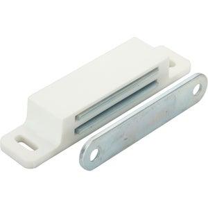 Image : Lot de 2 aimants magnétiques plastique HETTICH, L.17.3 x l.75.0 mm