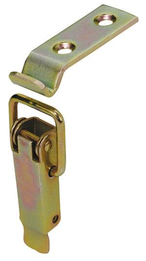 Image : Fermoir à levier acier HETTICH, L.56 x l.15 mm