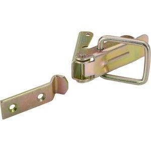Image : Fermoir à levier acier HETTICH, L.74 x l.18 mm
