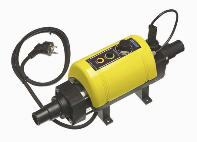 Rechauffeur Electrique Pour Piscine Nano Hs 3000 W Leroy Merlin