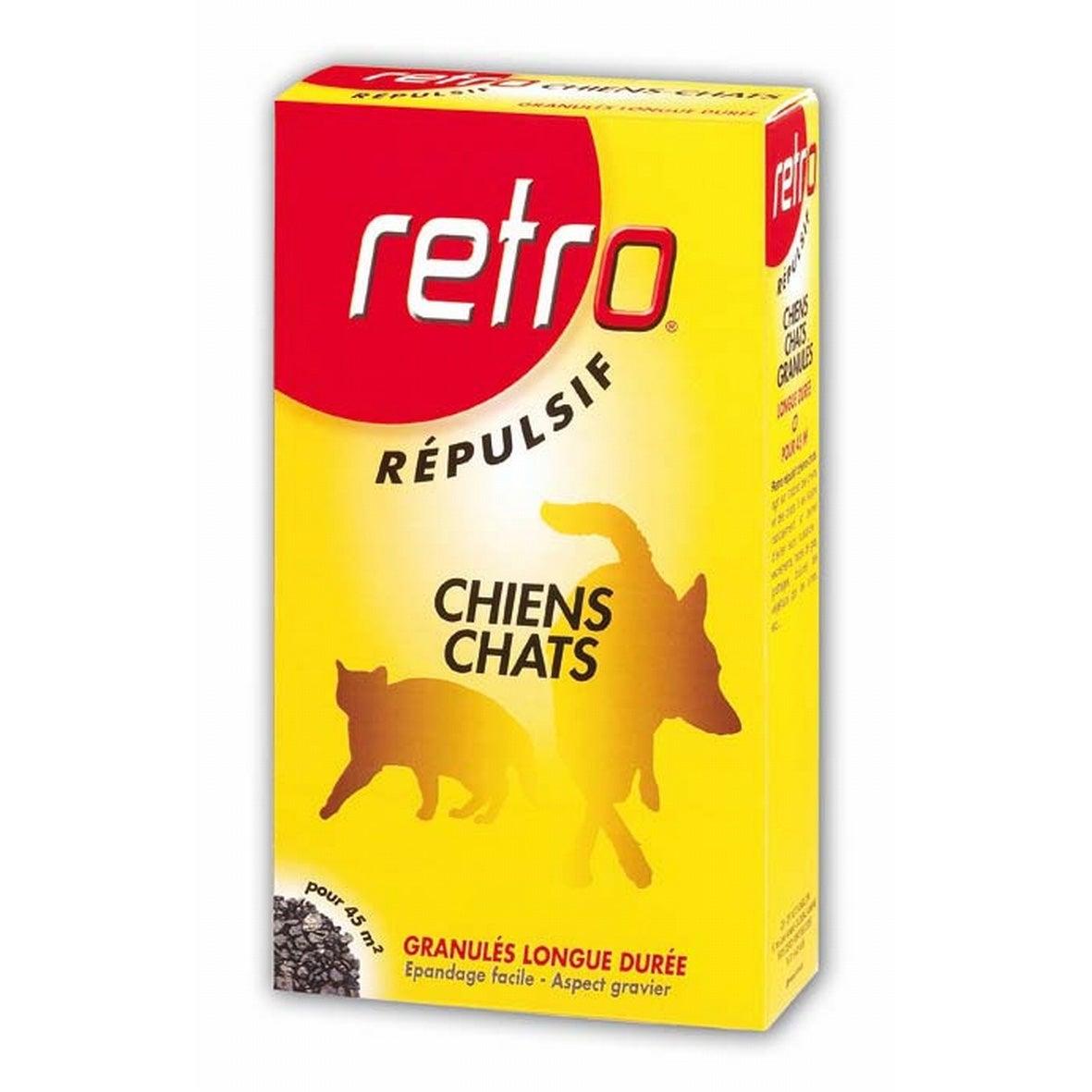 Repulsif En Granules Antichien Et Chat Retro 400g Leroy Merlin