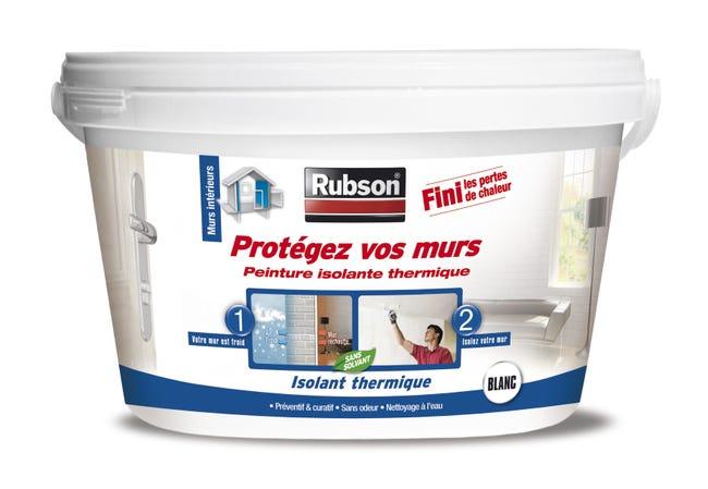 Peinture Thermique Protegez Vos Murs Rubson Blanc 2 5 L Leroy Merlin
