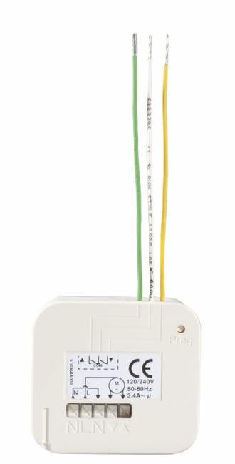Micro Recepteur Pour Volet Roulant Somfy 2401162 Leroy Merlin