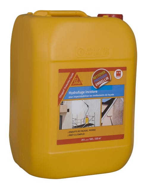 Impermeabilisant Sika Sikagard 20 L Incolore Leroy Merlin