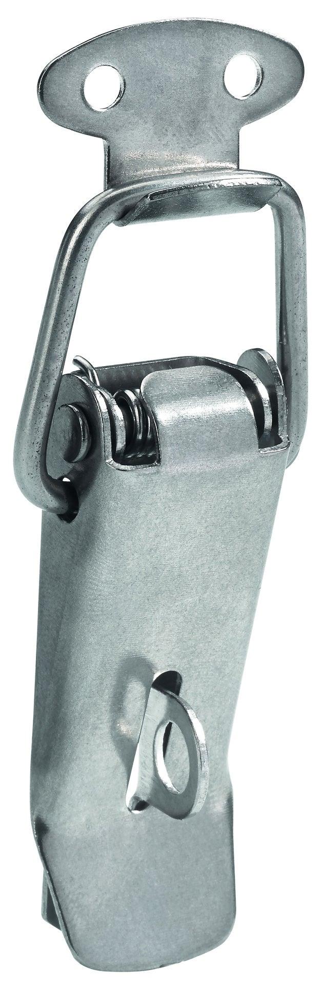 Fermoir à levier acier HETTICH, L.60 x l.17 mm