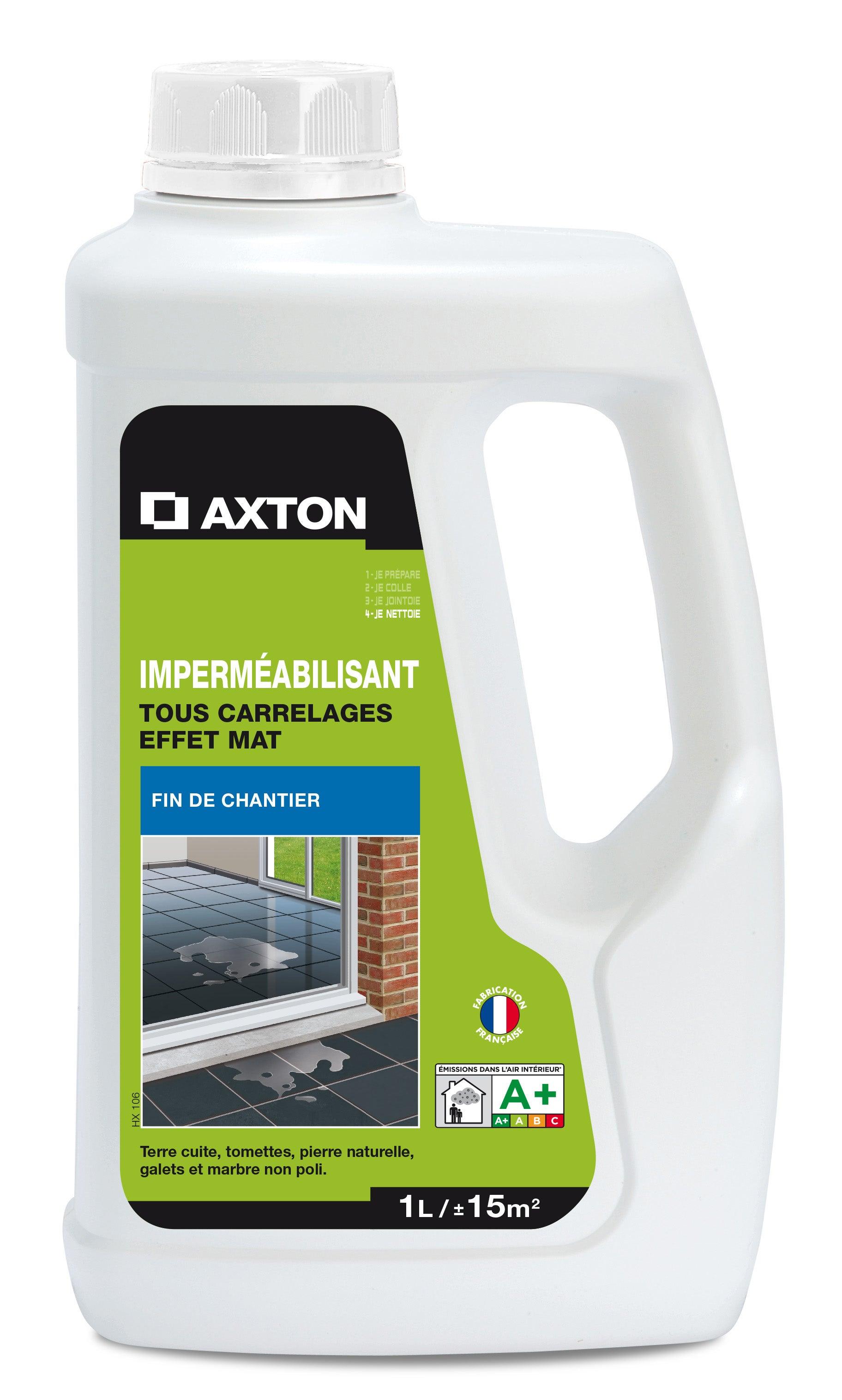 Imperméabilisant / hydrofuge tous supports AXTON, 20L