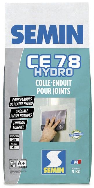 Enduit Pour Joint De Plaque De Platre Hydro Ce 78 Semin 5 Kg Leroy Merlin