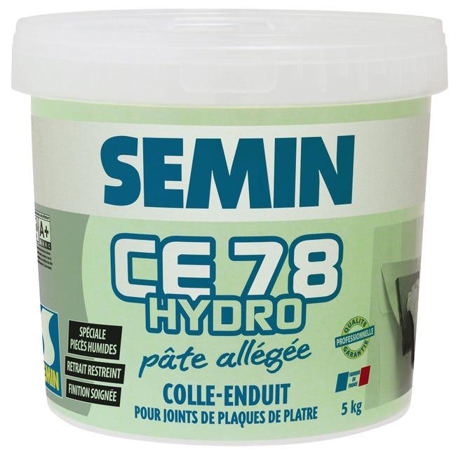 Enduit Pour Joint De Plaque De Platre Hydro Pret A L Emploi Ce 78hydro Semin 5kg Leroy Merlin