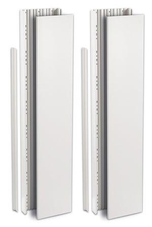 Gaine technique de logement (GTL) ABB, H.260 x L.25 x P.6.3 cm