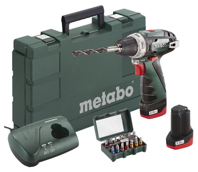Perceuse Sans Fil Metabo 108 V 2 Ah 2 Batteries Leroy