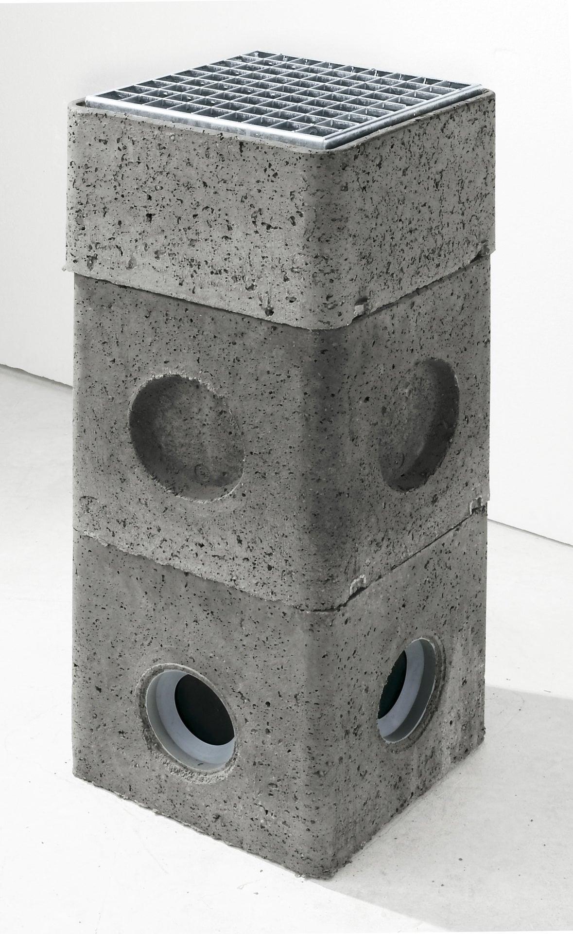 Grille caillebotis acier galvanisé, 32x32 cm | Leroy Merlin
