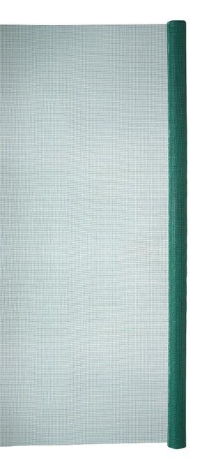 Moustiquaire fibre de verre vert, H.1 x L.2 m