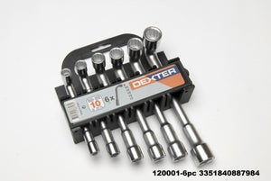 Image : Jeu de 6 clés à pipe, Diam. 8 à 17 mm DEXTER