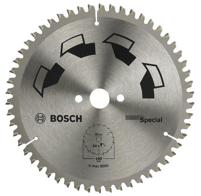 Lame Coupe Multimatériau Bosch Spécial Pour Finition Multi Matériaux