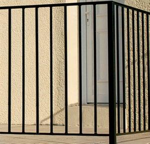Garde-corps pour balcon pour terrasse ou balcon, Levant, l.146