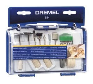 Image : Kit de 20 accessoires pour nettoyer et polir, DREMEL