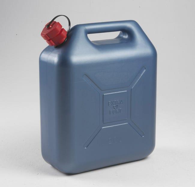 Jerrican En Polyethylene Eda Bleu 20 L Retrait Magasin