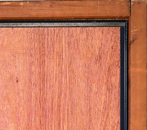 Cornière antipince pour porte AFBAT, brun