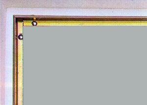 Cornière antipince pour porte AFBAT, jaune