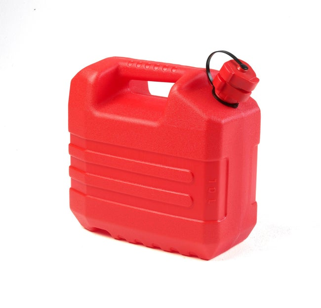 Jerrican En Polyéthylène Eda Rouge 10 L