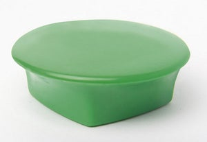Lot de 4 aimants vert, Diam.32 mm