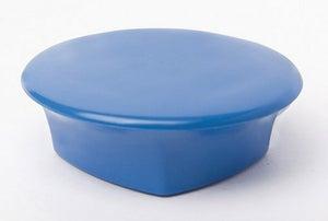 Lot de 4 aimants bleu, Diam.32 mm