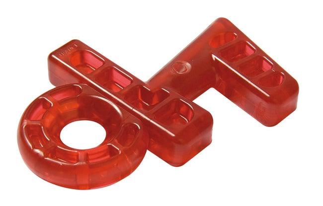Cale de fenêtre plastique rouge, SOCONA Kalair