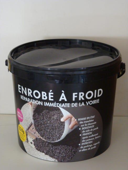 Reparation De Bitume Pradier 25 Kg Noir Leroy Merlin