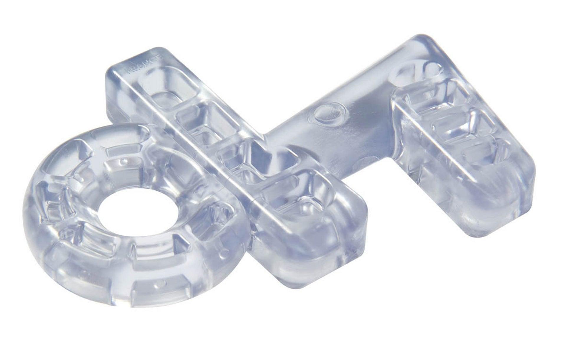 Cale de fenêtre plastique transparent, SOCONA Kalair