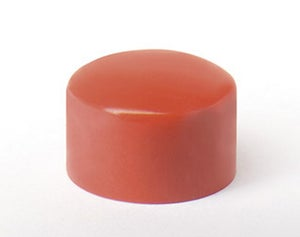 Lot de 8 aimants rouge, Diam.9 mm