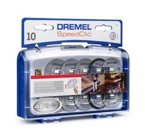 Image : Lot de 10 disques à tronçonner, DREMEL