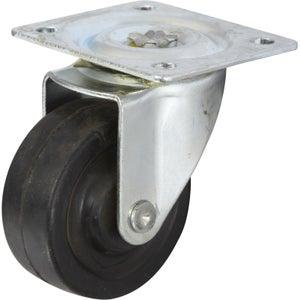 Image : Roulette pivotante à platine, Diam.40 mm