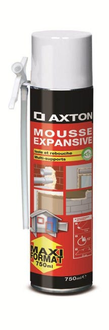 Mousse Expansive Axton 750 Ml Leroy Merlin