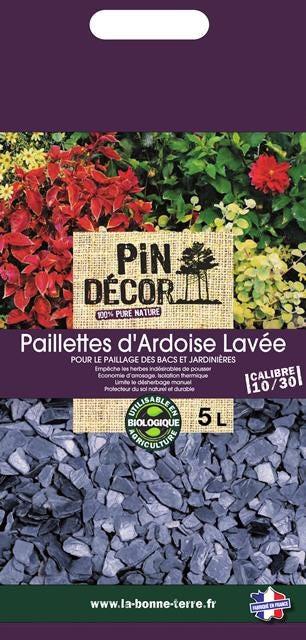 Paillettes D Ardoise Pin Decor 5 L Leroy Merlin