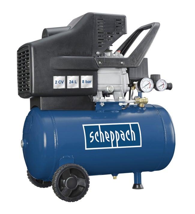 Compresseur D Atelier Scheppach 24 L 2 Cv Hc 25