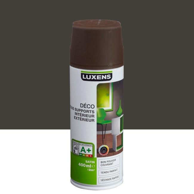 Peinture Aerosol Satin Luxens Brun Chocolat N 1 0 4 L Leroy Merlin