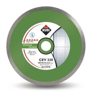 Image : Disque coupe céramique RUBI Cev 180 superpro, 180 mm