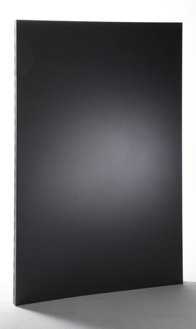 Plaque De Protection Murale Noir Sable Equation Discretion L 80 Cm X H 120 Cm Leroy Merlin