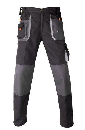 Pantalon de travail multipoche KAPRIOL Smart gris / noir taille M