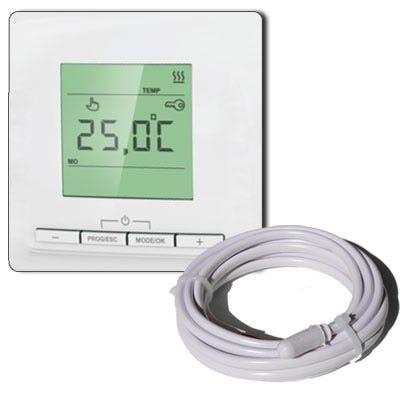 Thermostat Electronique Equation Tp520 3520 W L 100 X L 100 Cm Leroy Merlin