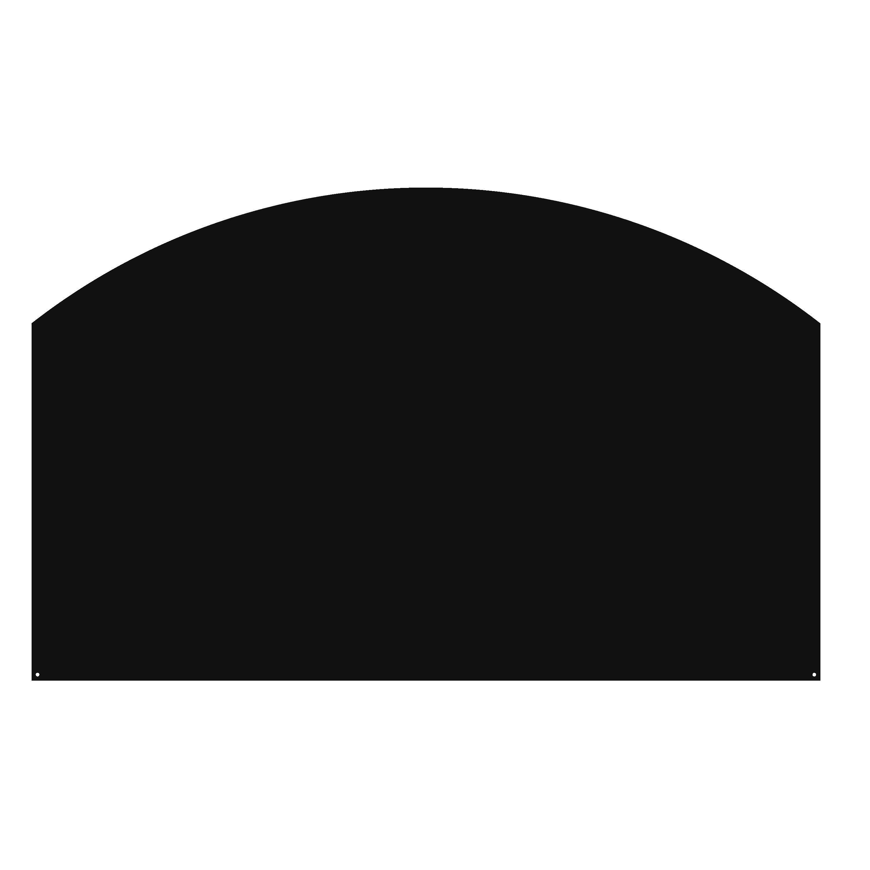 Plaque de protection sol noir DIXNEUF Arrondie, l.8 cm x H.8 cm