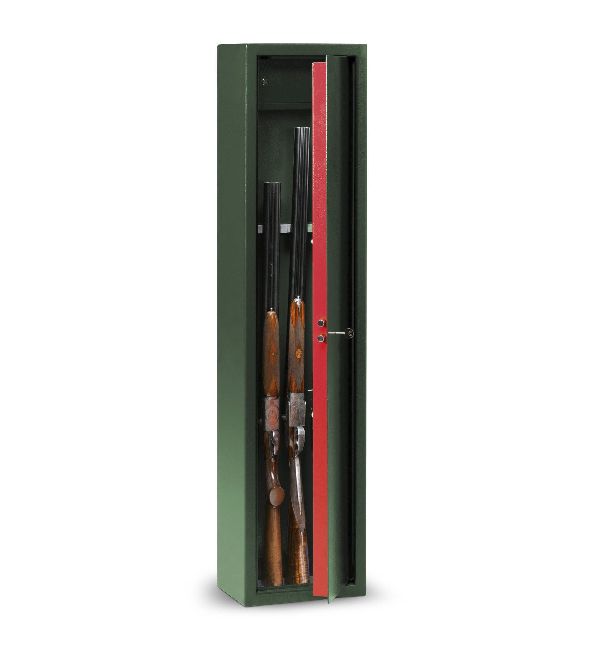 Armoire A Fusils A Cle 5 Fusils Technomax Lmk 5 H 138 X L 31 5 X P 22 Cm Leroy Merlin