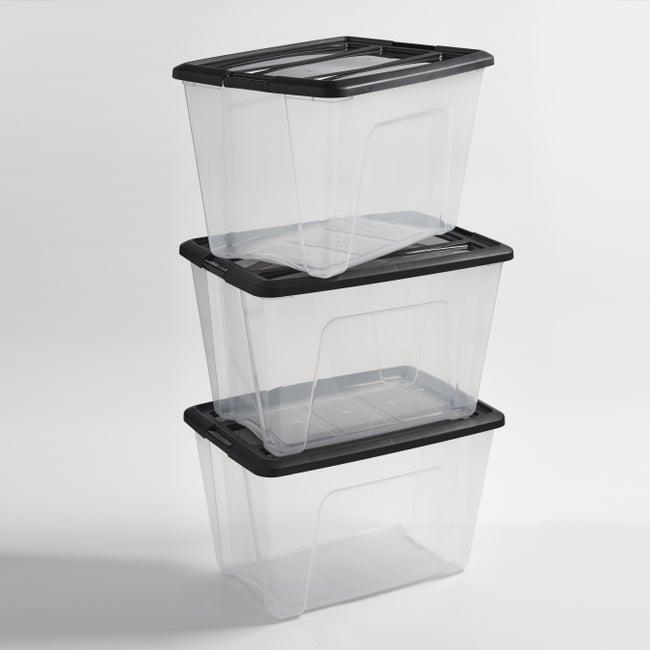 Lot De 3 Bacs Plastique L395 X P58 X H365 Cm