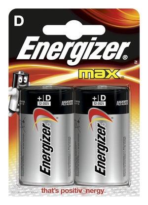 Lot De 2 Piles Alcaline A27mn27 12 V Energizer